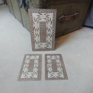 3 Piece Trivet Cutting Board Set NWOT